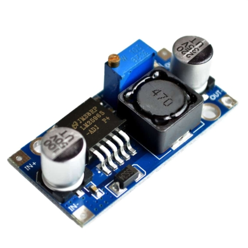 PHI1071864 – LM2596s DC-DC Step Down Adjustable Power Supply Module – Pack of 2 02