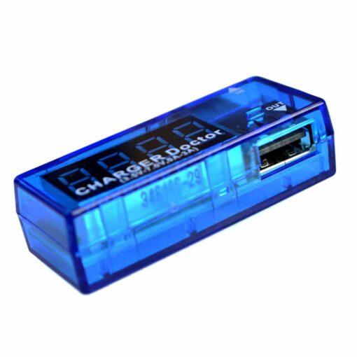 Digital USB In Line Voltage Charging Current Meter