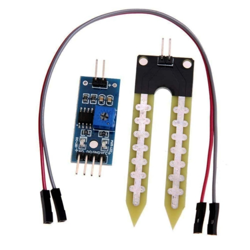 Soil Humidity Moisture Detection Sensor Module and Probe - LM393