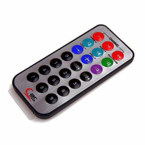 NEC Infrared IR 21 Button Remote Control – Low Profile