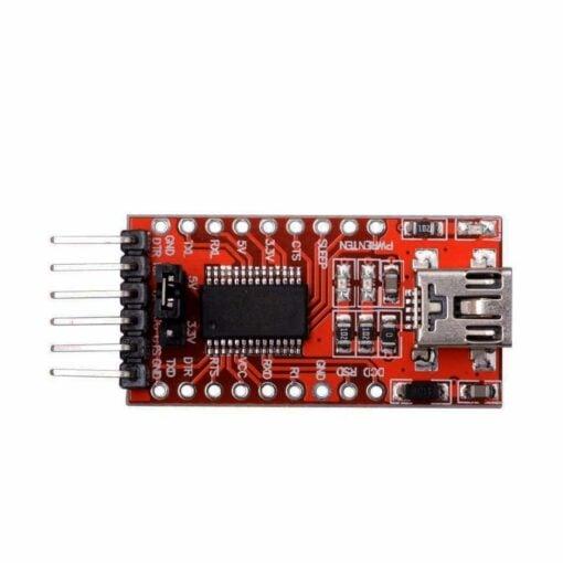 FT232RL FTDI Mini USB to TTL Serial Converter Adapter