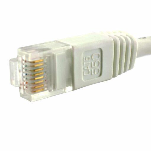 1m White Ethernet Network LAN Cable CAT6 1000Mbps RJ45