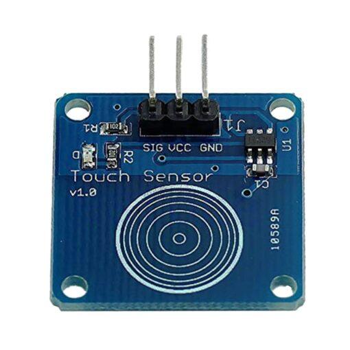 TTP223B Digital Capacitive Touch Sensing Module