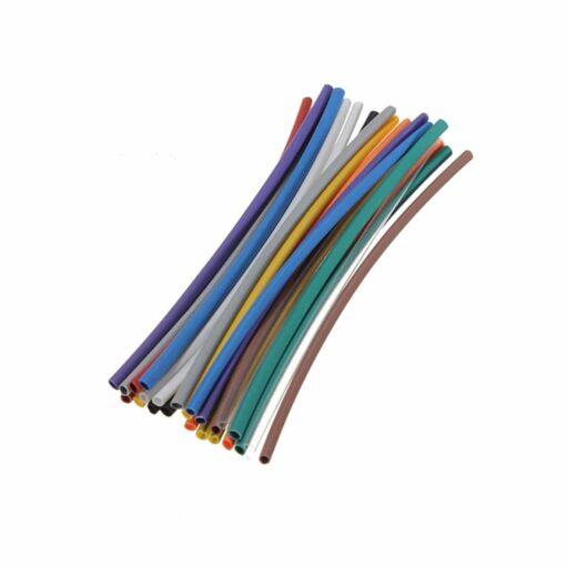 144 Piece Heat Shrink Tube Wrap Pack – 6 Sizes 12 Colours