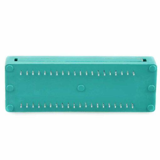 40 Pin Green ZIF Lockable Socket