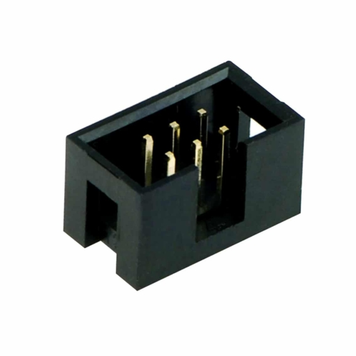 6 Way IDC Polarised Male Header Connector – Pack of 5