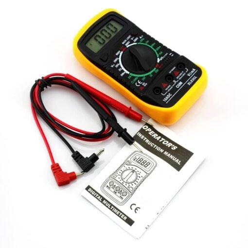 PHI1081826 – Digital Multi Meter Voltmeter Ohmmeter with Backlight – XL830L 02