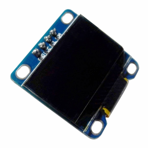 PHI1071983 – 0.96 Inch Yellow OLED Serial Display Module – 128 x 64 02