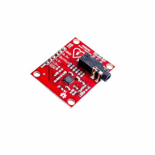 PHI1072023 – AD8232 ECG Heart Rate Sensor Module Kit 03