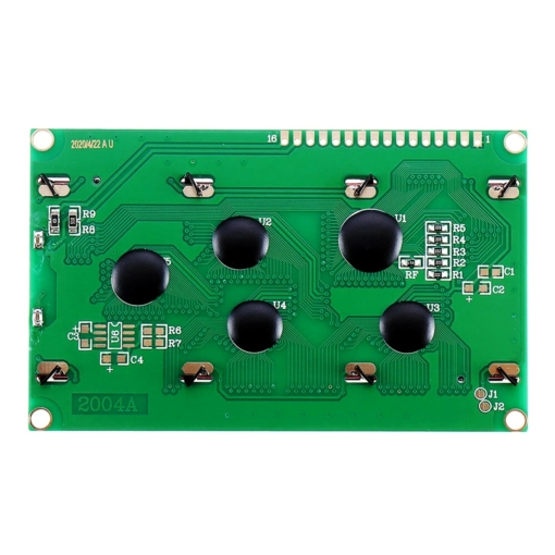 PHI1072032 – 20×4 Character LCD Display Module with LED Backlight – White on Blue 02