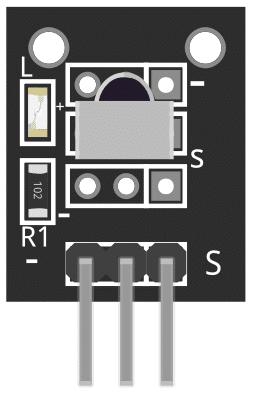 Figure 1: KY-022 Infrared Receiver Sensor