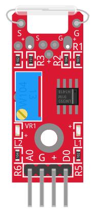 Figure 1: KY-025 Reed Switch Module