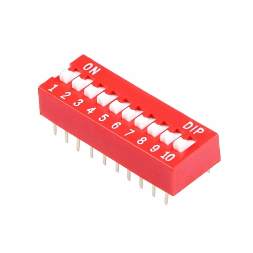 PHI1052134 – 10 Position DIP Switch – Pack of 5 02