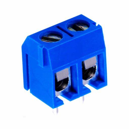PHI1052156 – 2 Pin 5mm Terminal Block Screw Connector – Pack of 5 02