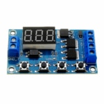 PHI1072206 – 1 Channel Programmable Time Delay Relay Module – XY-J04 05