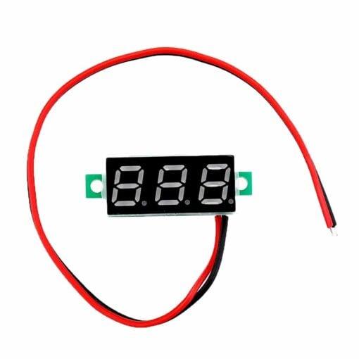 PHI1072193 – 0.28 Inch Green Digital DC Voltmeter – 2.5V – 30V Range 02