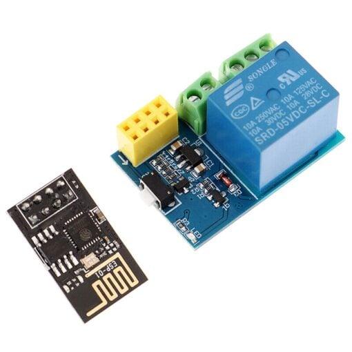 PHI1072240 – ESP8266 5V WiFi Relay Board Module – ESP-01S 04