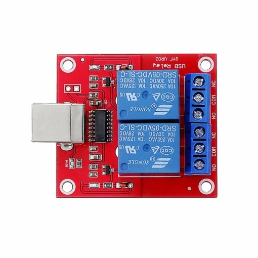 PHI1072270 – 2 Channel 5V Low Level USB Relay Module 02