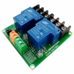 PHI1072254 – 2 Channel 5V 30A High and Low Level Relay Module 02