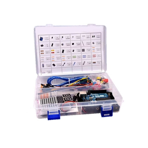 PHI1012551 – UNO R3 Basic Starter Kit With Case – Arduino Compatible 03