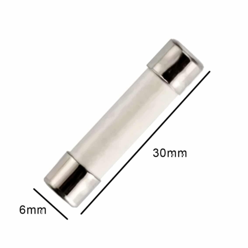 PHI1052529 – 8A Ceramic Fast Blow Fuse – 250V 6x30mm – Pack of 15 02