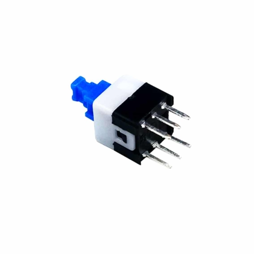 PHI1052597 – 6 Pin Square DPDT 7MM x 7MM Self Locking Switch – Pack of 10 02