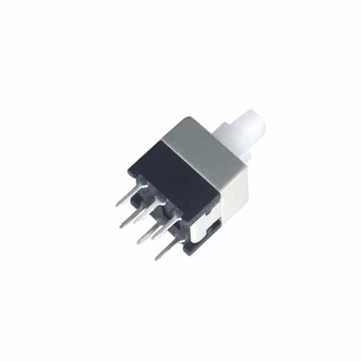 PHI1052599 – 6 Pin Square DPDT 5.8MM x 5.8MM Self Locking Switch – Pack of 10 02