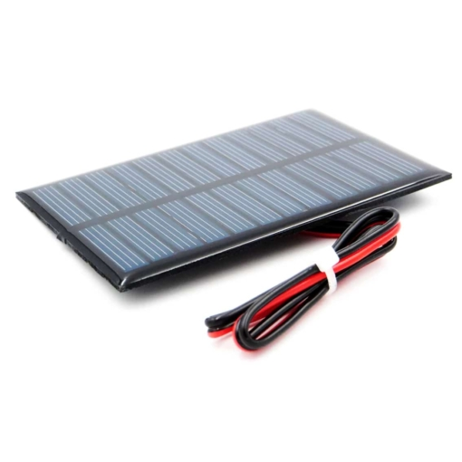 PHI1052698 – 5V 150mA Solar Panel with Cable – 60mm x 90mm 03
