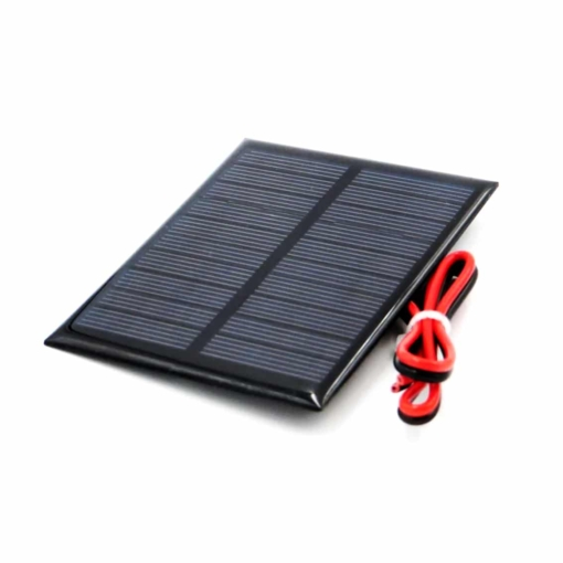 PHI1052699 – 5V 160mA Solar Panel with Cable – 90mm x 70mm 02