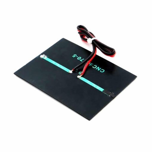 PHI1052699 – 5V 160mA Solar Panel with Cable – 90mm x 70mm 03