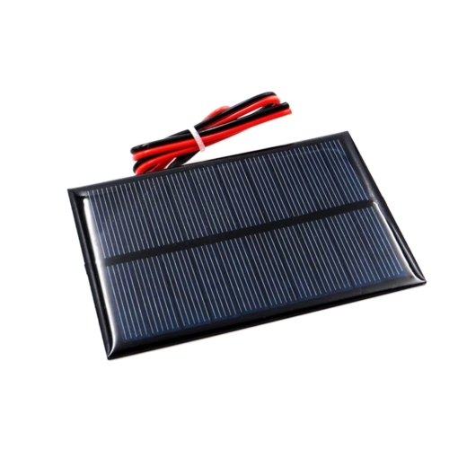 PHI1052700 – 5V 200mA Solar Panel with Cable – 100mm x 70mm 02