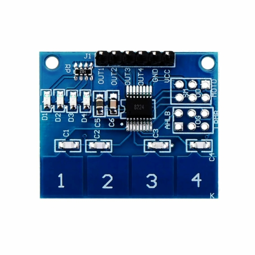 PHI1062467 – 4 Channel Capacitive Touch Keypad Module 02
