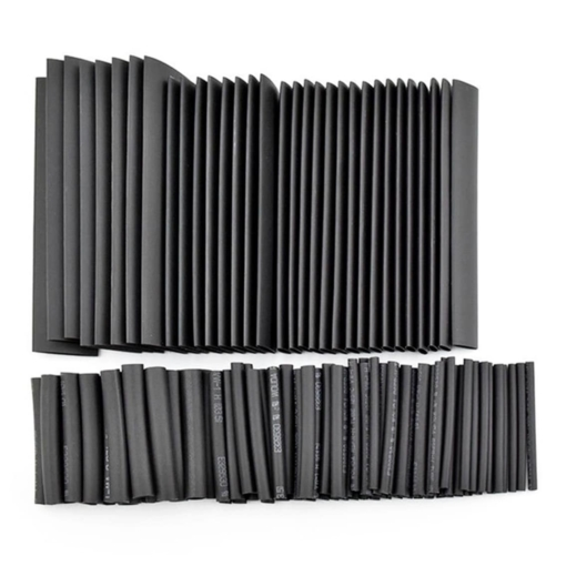 PHI1062647 – 127 Piece Black Heat Shrink Tube Pack – Assorted Sizes 02