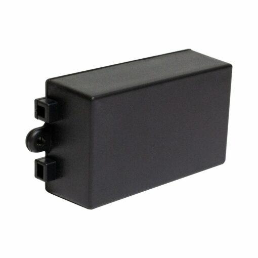 PHI1062858 – Black ABS Electronics Flange Mount Enclosure Box – 80 x 38 x 22mm – 03