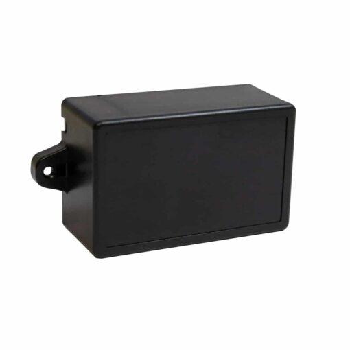 PHI1062859 – Black ABS Electronics Flange Mount Enclosure Box – 82 x 52 x 35mm – 02