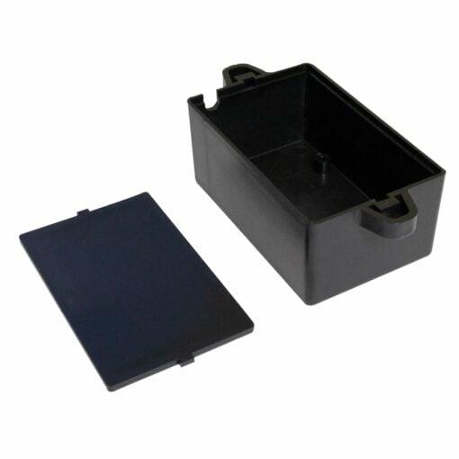 PHI1062859 – Black ABS Electronics Flange Mount Enclosure Box – 82 x 52 x 35mm – 03