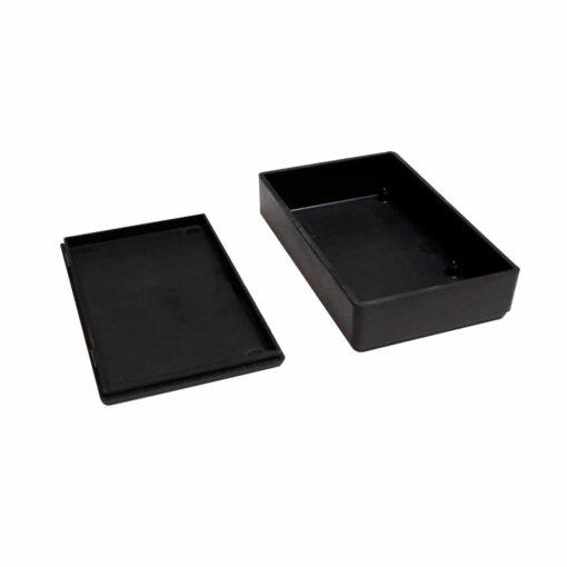 PHI1062860 – Black ABS Electronics Snap Close Enclosure Box – 92 x 58 x 23mm – Pack of 2 03