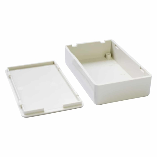 PHI1062862 – White ABS Electronics Snap Close Enclosre Box – 85 x 50 x 21mm – Pack of 2 03