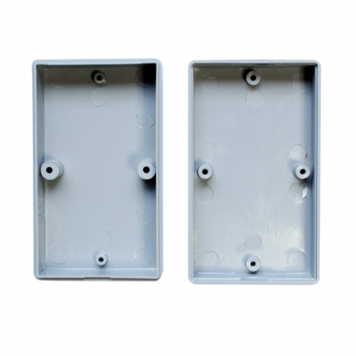 PHI1062866 – Grey ABS Electronics Screw Close Enclosure Box – 73 x 43 x 23mm – Pack of 2 03