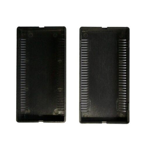 PHI1062868 – Black ABS Electronics Snap Close Enclosure Box with Vents – 108 x 56 x 40mm 03