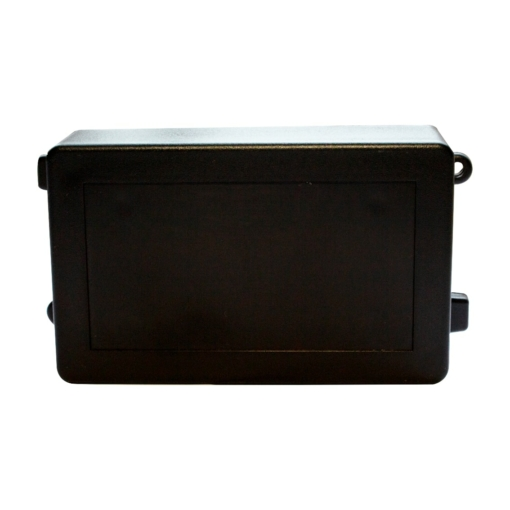 PHI1062869 – Black ABS Electronics Flange Mount Enclosure Box – 115 x 62 x 35mm – Pack02