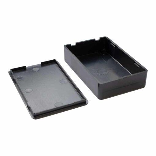 PHI1062870 – Black ABS Electronics Snap Close Enclosure Box – 70 x 45 x 18mm – Pack of 2 03