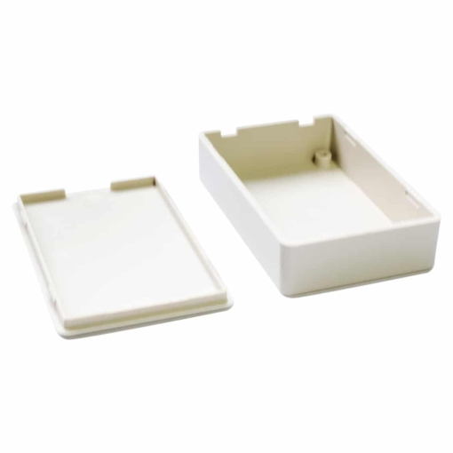 PHI1062871 – White ABS Electronics Snap Close Enclosure Box – 70 x 45 x 18mm – Pack of 2 03