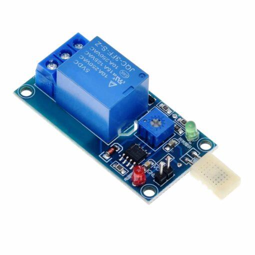 PHI1072450 – 5V 1 Channel Humidity Sensor Relay Module 02