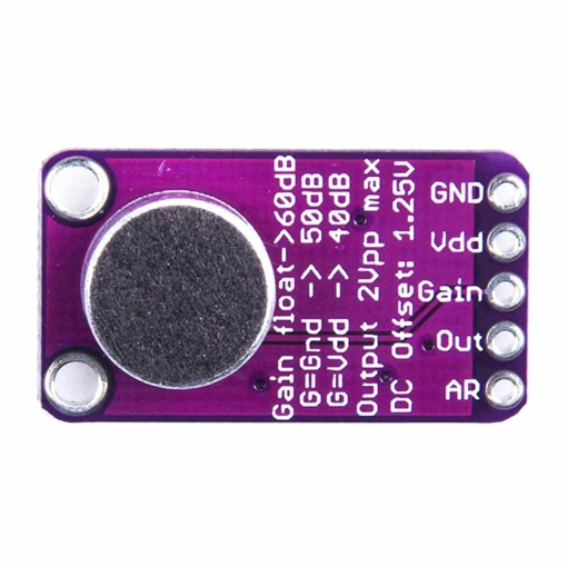 PHI1072490 – Microphone Amplifier Module with AGC and Low-Noise Bias – MAX9814 02