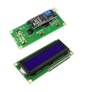 16x2 Display Module Front and Back